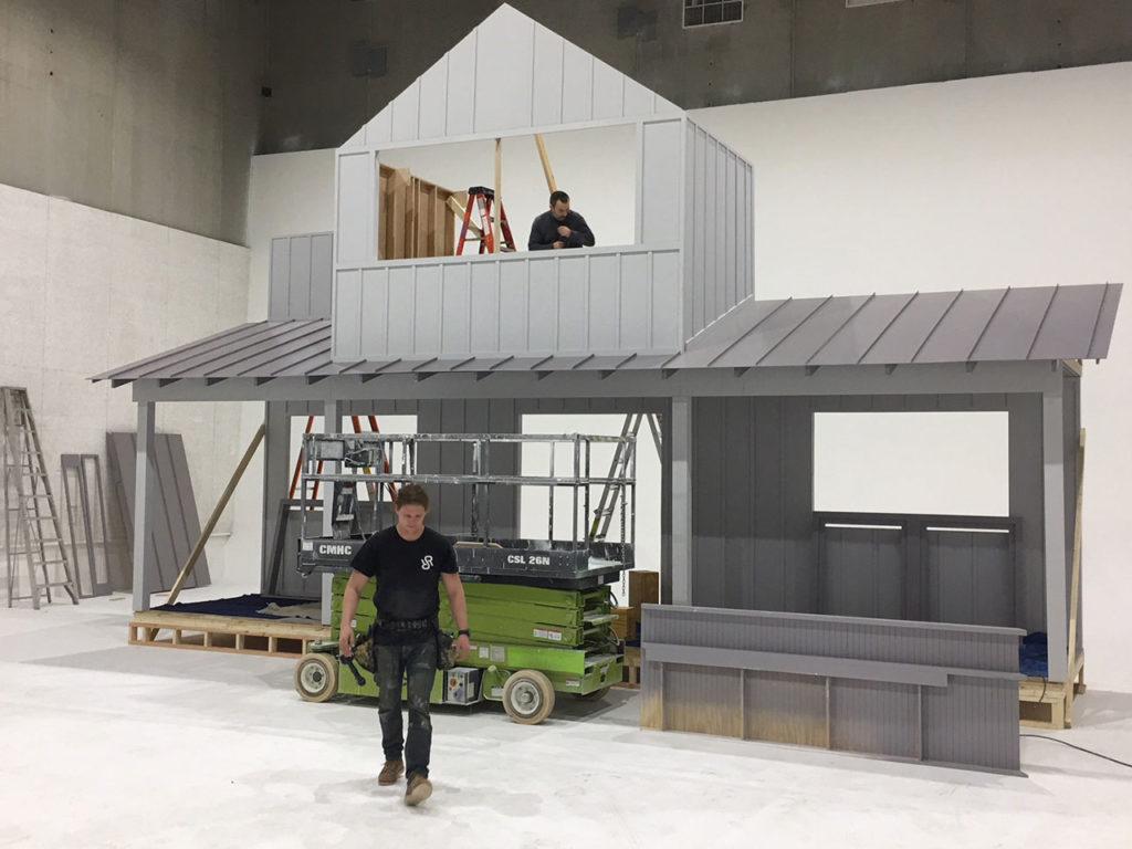 Target Christmas Commercial 2018.Target House Set Rush River Scenic